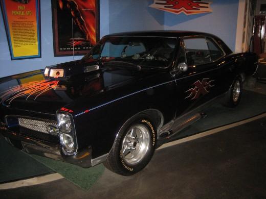 Vin Diesel 1967 Pontiac GTO from XXX