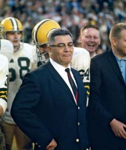 Coach Vince Lombardi