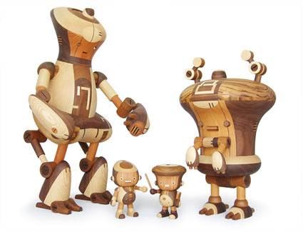 Modern Wood toys