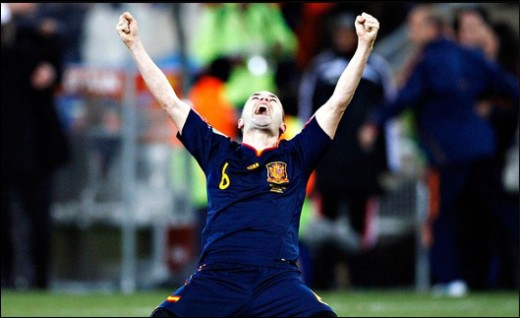 Iniesta will forever be remembered in Spain for his late-game heroics.