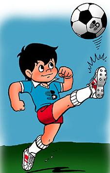Our otherworld sporting star, Sport Billy