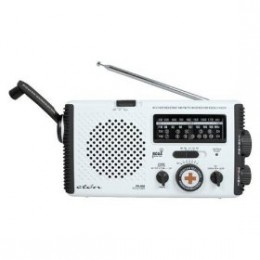 Always keep a battery operated radio with you.