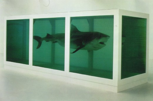 The Physical Impossibility of Death in the Mind of Someone Living by Hirst (1991)