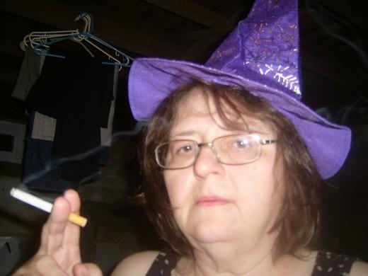 Witch's cap