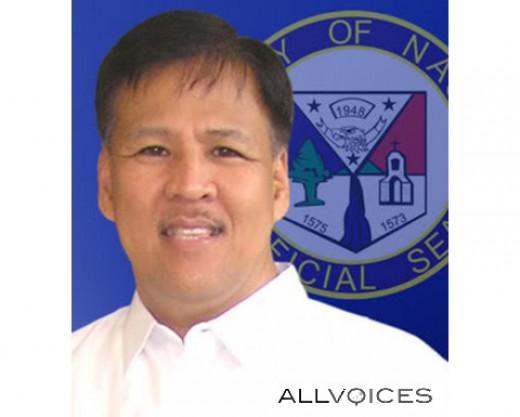 Former Naga City Mayor JESSE M. ROBREDO, Ramon Magsaysay Awardee for Government Service in 2000