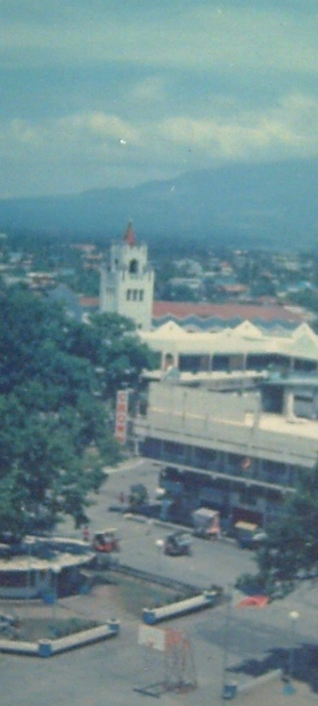 The Naga City Downtown (Photo taken by Travel Man, 1995)