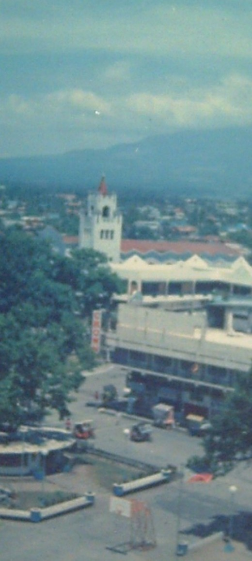 The Naga City Downtown (Photo taken by Travel Man, 1995)