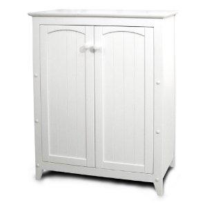 Catskill Craftsmen Double Door Kitchen Cabinet, White