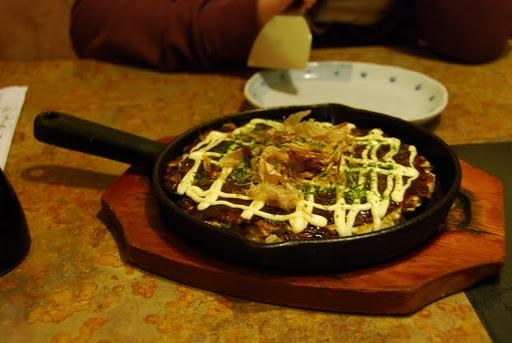 Mmm.  Okonomiyaki.  Impossible to order? Not a bit!