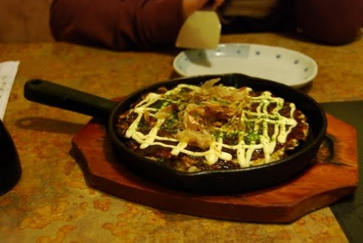 Mmm.  Okonomiyaki.  Impossible to order? Not a bit!