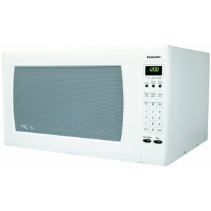 Panasonic NN-H765WF Full-Size 1-3/5-Cubic-Foot 1250-Watt Microwave Oven, White