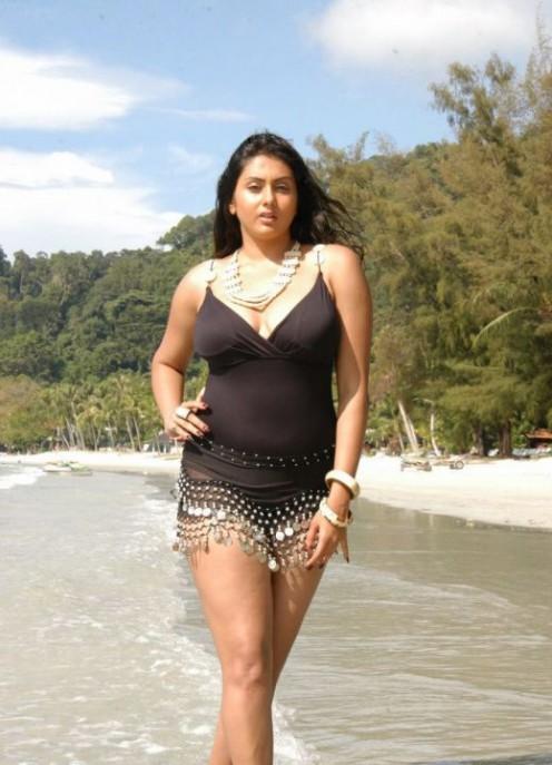 Namitha walking