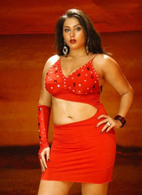 Namitha in red