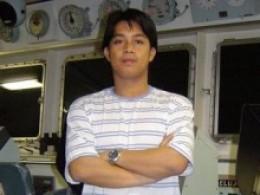 Chief Mate Erickson Pedrosa, managing the Tsakos Fleet in Wallem-Manila, Philippines
