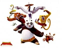 kung fu panda characters