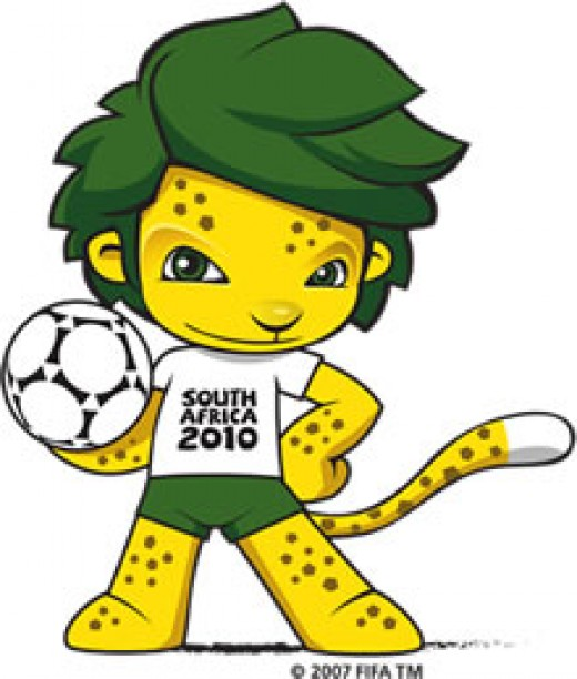 Zakumi, mascot of the 2010 Fifa Soccer World Cup