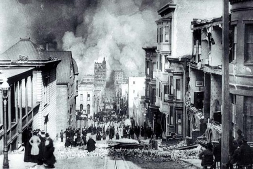 san francisco earthquake of 1906. The 1906 San Francisco