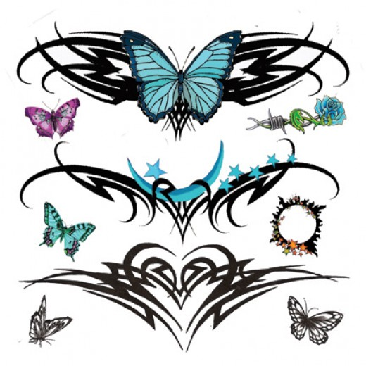 Some Popular Tramp Stamp Tattoo Best Wallpaper 2012 Lower Back Tattoos