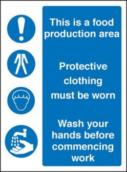SAFETY IN FOOD PRODUCTION AREA