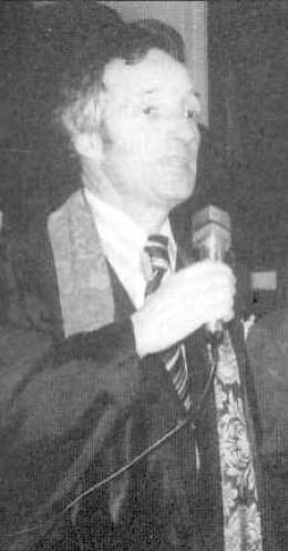 Bernard as the Chairperson of the UCCSA