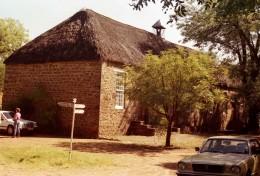 The Moffatt Mission Church in Kuruman. Moffat was the great London Missionary Scoiety pioneer. His daughter married David Livingstone. Photo Tony McGregor