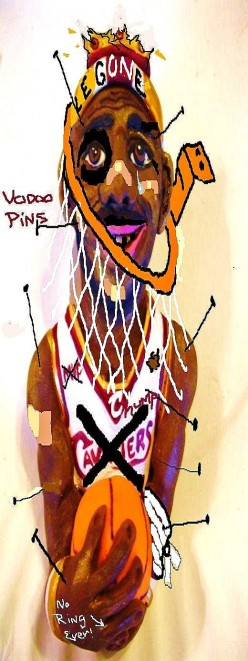 A Curse To Dog Le Bron James For His Self Serving Exit.