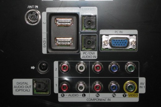 2HDMI in, 1 optical out, component in