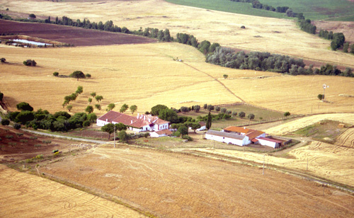 Typical Alentejo farm villa