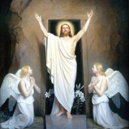 After 3 days He rose again, saving us from sin and death