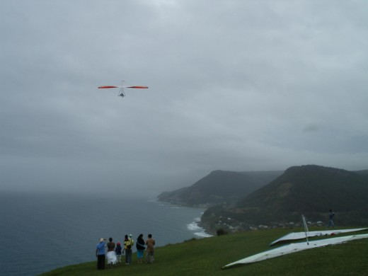 The View from Bald Hill - Stanwell Park, Woollongong and the rest of South eastern Australia - here we come.