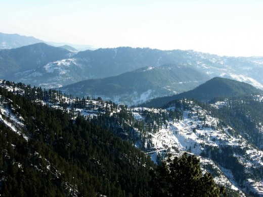Muree is a wonderful place to visit during the winters.