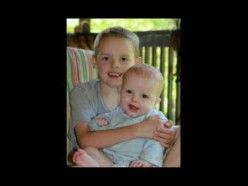 My two young grandsons, future empire to the throne