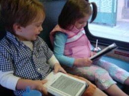 Kids like the Kindle