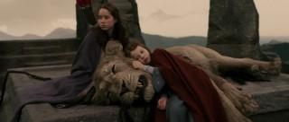 Aslan is sacrificed
