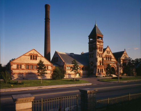 Chestnut Hill Water Works in Newton.
