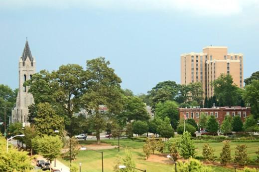 Plenty outdoor areas in Atlanta
