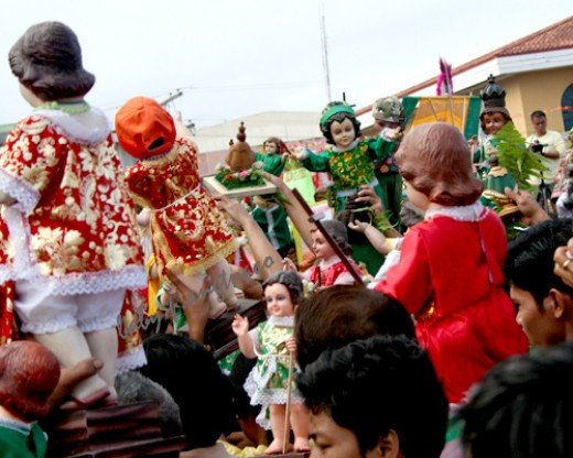 Blessing of Sto Nino images