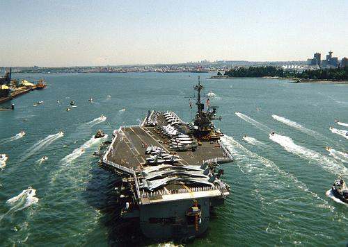 Aircraft carrier.