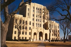 Potter County Courthouse, Amarillo, Texas. Art Deco, c. 1932.