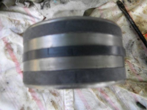 Piston with new seals installed