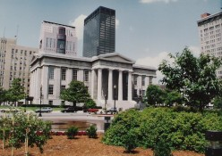Built between 1837 - 1842 in Greek Revival, the former Jefferson County Courthouse, Louisville, Kentucky.