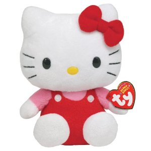The loveable Hello Kitty plushie makes a great gift idea