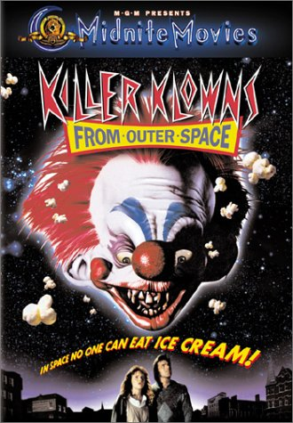 Horror film reviews - Killer Klowns From Outer Space 1988.
