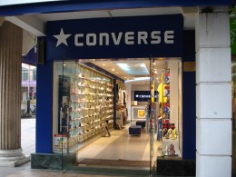 Heaven for me, was this Converse Outlet Store