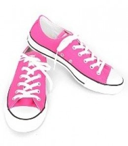 Converse All Star Neon Pink Low-Tops