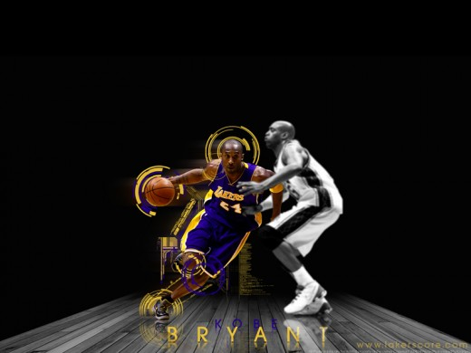 the Los Angeles Lakers Championship season. The Kobe Bryant Wallpaper