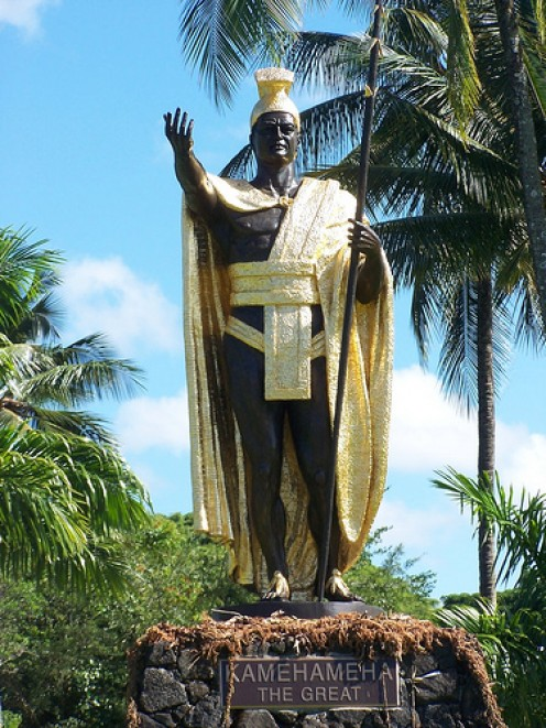 Statue of King Kamehameha  (from hawaiianedventure.com)