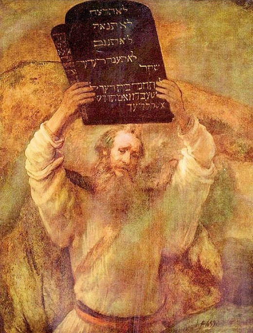 What are the ten commandments and why am I saying that there are only six commandments?