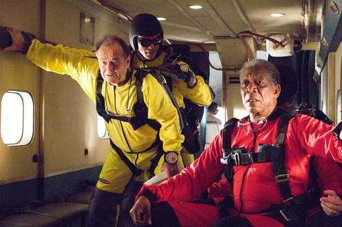 Jack Nicholson and Morgan Freeman in The Bucket List