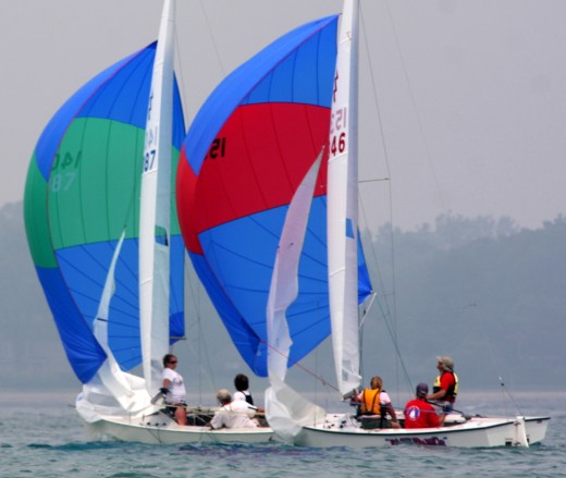 2010 Lightning Districts, Crescent Sail YC, Lake St. Clair